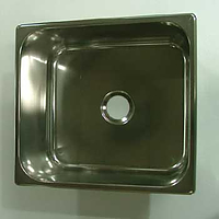 Steelbrite Stainless Caravan Sink rectangular