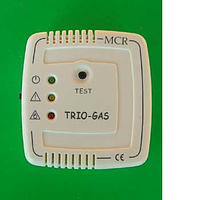 Trio gas alarm - colour ivory