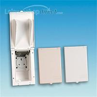 13 amp socket outlet - Beige