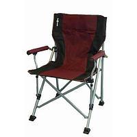 Brunner Raptor Folding Chair - Burgundy/black