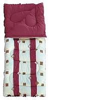 Royal Umbria Burgundy Single Sleeping Bag - Super King size