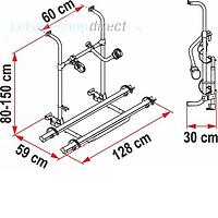 Fiamma Carry-Bike Pro + Spare Parts image 3