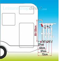 Fiamma Carry-Bike Pro + Spare Parts image 4