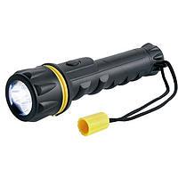 Heavy Duty Rubber LED Torch