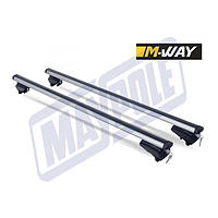M-WAY M PROFILE UNIVERSAL ALUMINIUM ROOF BARS 1.2M FOR INTEGRATED ROOF RAILS