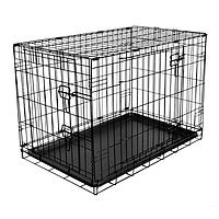 Metal Fold Flat Crate - Medium