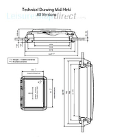 Dometic Midi Heki Rooflight and Spare Parts image 2
