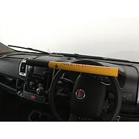 Milenco High Security Steering Wheel Lock (Yellow)