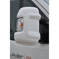 Milenco Motorhome Mirror Protectors White (Wide Arm)