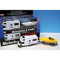 MOTORHOME & TRAILER