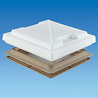 MPK Rooflight 420 with Flynet & Blind - Beige (Complete)