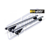 MWAY EAGLE UNIVERSAL ALUMINIUM ROOF BARS 1.2M FOR RAISED ROOF RAILS