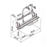 Thule Omnibike Plus Bikerack Spare Parts image 1