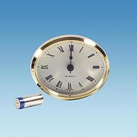 Oval Insert  Caravan Clock