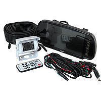 """Ranger 410 - 7"""" Clip-over Mirror Monitor / Roof mounted Camera System"""