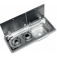Smev MO9722RP Caravan Motorhome Sink and Hob Combination unit
