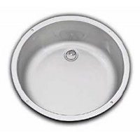 SMEV Series 900 Round Caravan Sink + waste and seal
