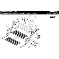 Thule omnistep double step right hand side (part 4 on picture)