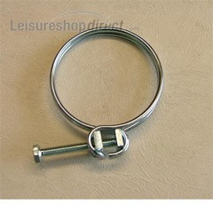 Hose clip for 40mm convoluted hose