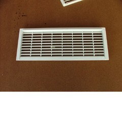 Dorset Fridge Vent Pair - white