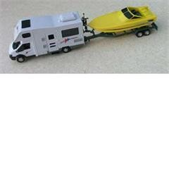 Toy Motorhome and trailer
