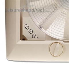 Omni-Vent 12v Fan + Blind with Clear Dome
