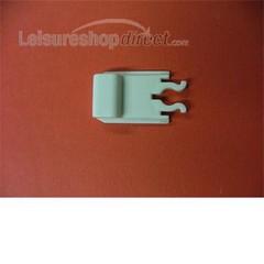Slide Clip for Dometic Fridge Vent - White