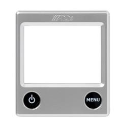 Alde Silver Fascia for (Alde 3020 Compact boiler) control panel