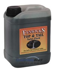 Fenwicks Top and Tail Toilet Chemical - 2.5L