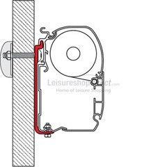 Fiamma F45 + F70 + ZIP Awnings Mounting Brackets