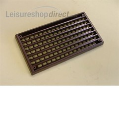 Interior Plastic Vent 170mm x 90mm - Brown