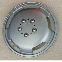 15$$$ Silver wheel trim for motorhome