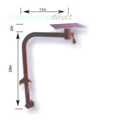 Multi Position Offset Swivel Table Leg