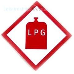 LPG sticker