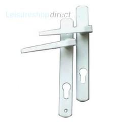 Ellbee Eurolock Handles for UPVC Doors - White