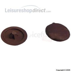 Pozi screw covers - Tan colour