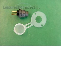 Two Pin Plug and gasket for suplerfil pump 80