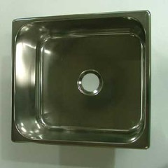 Steelbrite Stainless Caravan Sink rectangular