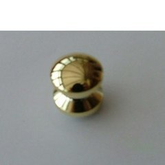 Mini push button, gold