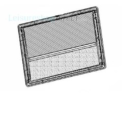 Dometic Seitz S4 Window Interior Frame Including Blind and Flyscreen-(350*500)-IRE03R350x500