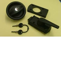 Vecam RH door lock without barrel and key