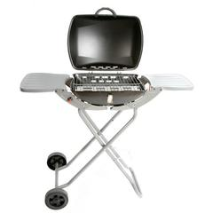 Combo Portable Gas Barbecue with Folding Trolley