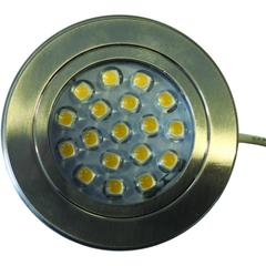 DIMATEC LED SURFACE MOUNTED NICKEL BRUSHED C/W TOUCH SWITCH