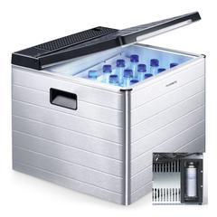 Dometic ACX3 40G Coolbox (12V/240V/Gas) with Gas Canister Cradle