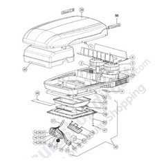 Dometic B1600 Air Conditioning Unit Spare Parts