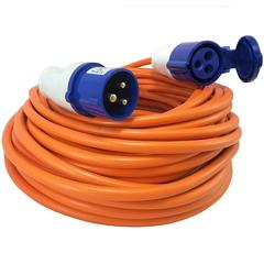 25m Caravan Electric Hook Up Mains Lead 230V