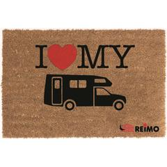 I Love My Motorhome Coconut Mat
