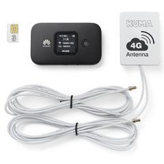 Kuma 4G Caravan ~~~ Motorhome Mobile Pocket WiFi Kit with Antenna