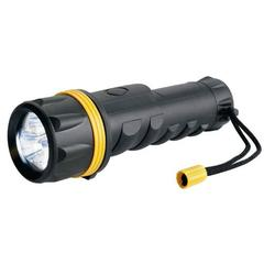 Large Heavy Duty Rubber LED Torch