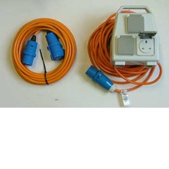 Caravan and Camping Electric Hook-up Leads